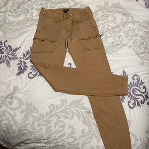Khaki loft pants